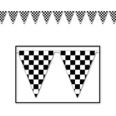 Sports Decorations 100' Checkered Pennant Image