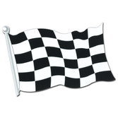 Sports Decorations Checkered Flag Cutout Image