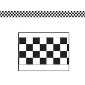 Sports Decorations Checkered Flag Party Tape Image