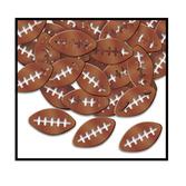 Sports Decorations Metallic Football Confetti Image