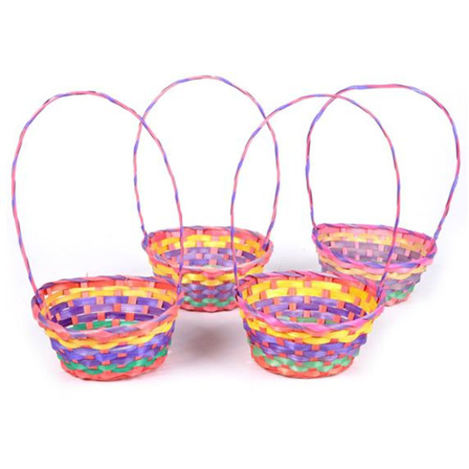 Easter Gift Bags & Paper Rainbow Easter Basket Image