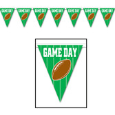 Sports Decorations Game Day Football Pennant Image