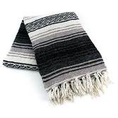 Cinco de Mayo Decorations Charcoal Mexican Blanket Image