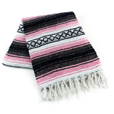 Cinco de Mayo Decorations Light Pink Mexican Blanket Image