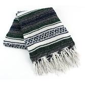 Cinco de Mayo Decorations Hunter Green Mexican Blanket Image