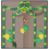 Jungle & Safari Decorations Jungle Monkey Party Canopy Image