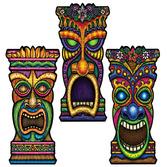 Luau Decorations Tiki Cutout Image