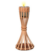 Luau Decorations Bamboo Torch Tabletop Image