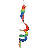 Cinco de Mayo Decorations Tropical Parrot Wind-Spinner Image