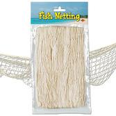 Luau Decorations Natural Color Fish Net Image