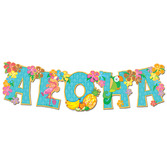 Luau Decorations Aloha Streamer Image