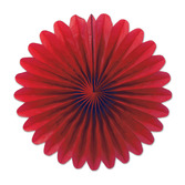 Decorations Red Mini Tissue Fans Image