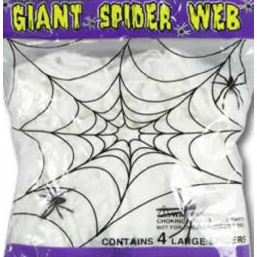 Halloween Decorations Spider Webbing Image