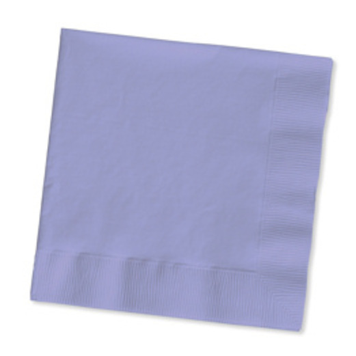 Baby Shower Table Accessories Lavender Beverage Napkins Image