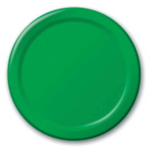 St. Patrick's Day Table Accessories Green Dessert Plates Image