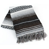 Cinco de Mayo Decorations Brown Mexican Blanket Image