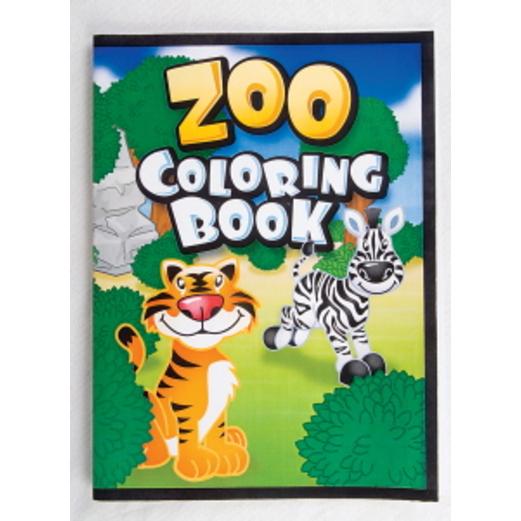 Jungle & Safari Favors & Prizes Zoo Coloring Books Image
