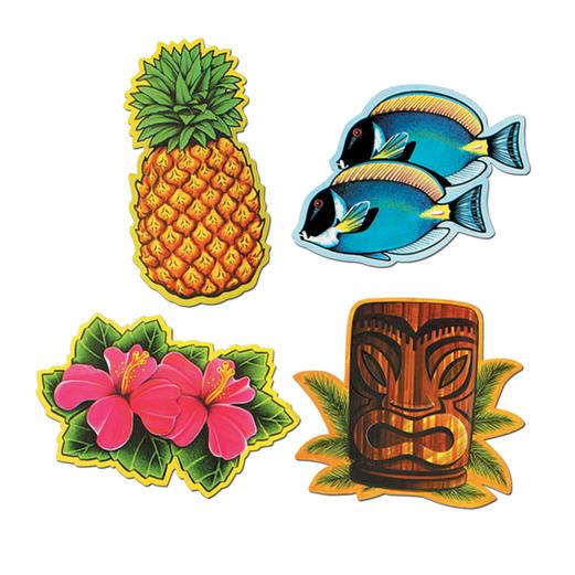 luau cutouts - Luau Decorations