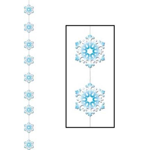 Christmas Decorations Snowflake Stringer Image