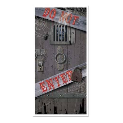 Halloween Decorations Spooky Halloween Door Cover Image