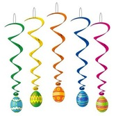 Easter Decorations Easter Egg Whirls Image