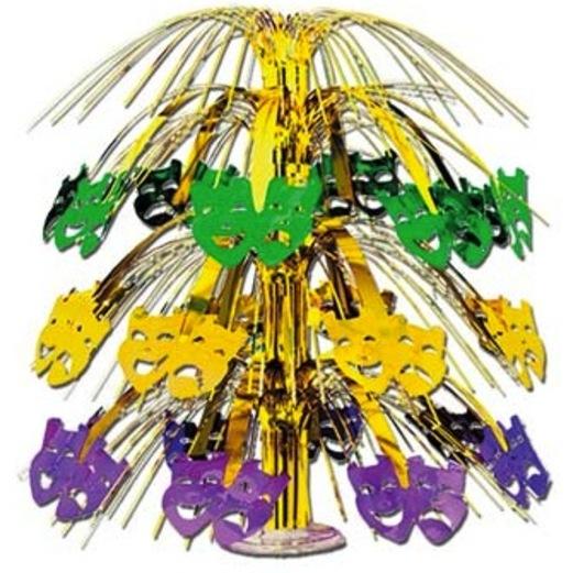 mardi gras cascade centerpiece - Mardi Gras Decorations