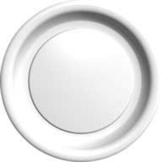 Wedding Table Accessories White Dinner Plates Image