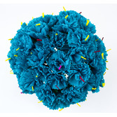 Cinco de Mayo Decorations Turquoise Carnations Image
