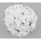Cinco de Mayo Decorations White Carnations Image
