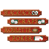 Casino Decorations Casino Sign Cutouts Image