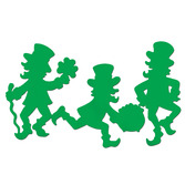 St. Patrick's Day Decorations Leprechaun Silhouettes Image