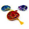 Cinco de Mayo Decorations Small Velvet Mariachi Sombrero Image