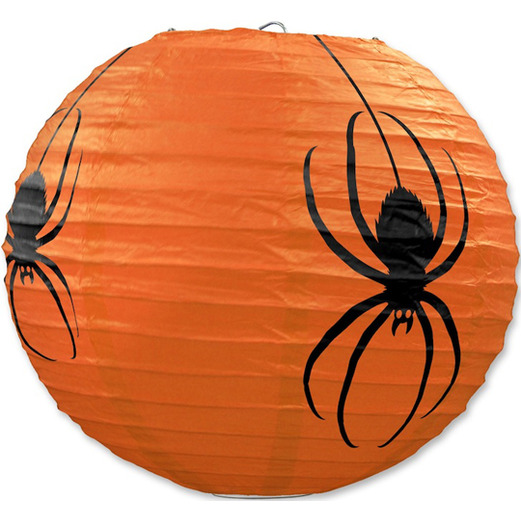 Halloween Decorations Spider Paper Lanterns Image