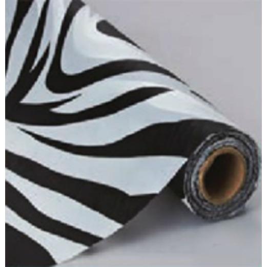 Jungle & Safari Table Accessories Zebra Table Roll Image