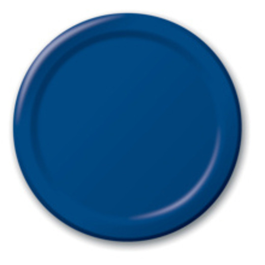 4th of July Table Accessories Navy Blue Dessert Plates Image