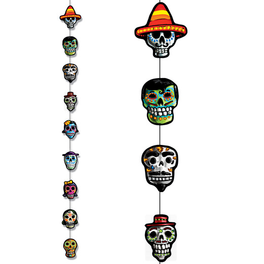 Day of the Dead Decorations Day of the Dead Stringer Image