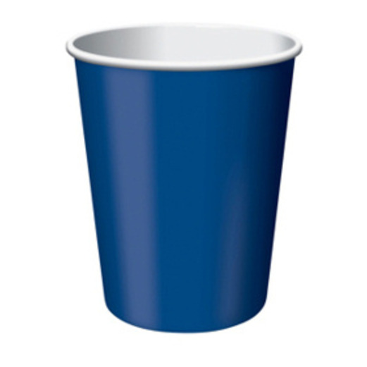 4th of July Table Accessories Navy Blue Cups Image