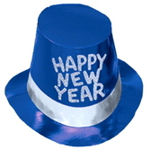New Years Hats & Headwear Blue Moon Top Hats Image