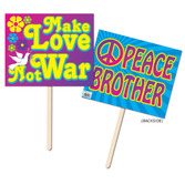 60s & 70s Decorations 60s Yard Sign Image