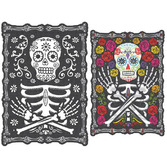 Day of the Dead Decorations Day of the Dead Skeleton Sign Image