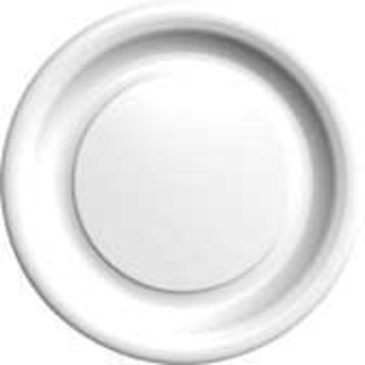 Wedding Table Accessories White Dessert Plates Image
