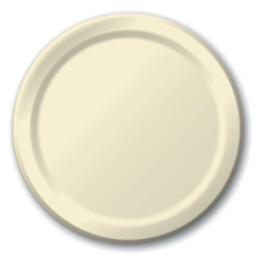 Wedding Table Accessories Ivory Dessert Plates Image