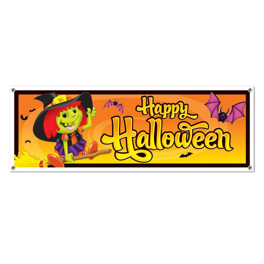 Halloween Decorations Happy Halloween Sign Banner Image