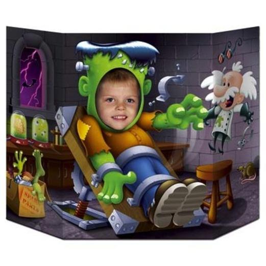 Halloween Decorations Frankenstein Photo Prop Image