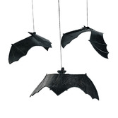 Halloween Decorations Vinyl Hanging Bats Image