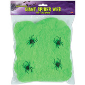 Halloween Decorations Giant Slime Green Spider Web Image