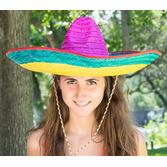 Fiesta Hats & Headwear Multicolor Mexican Sombrero Image