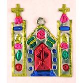Cinco de Mayo Decorations Church Tin Ornament Image