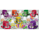 New Years Party Kits Fluorescent Party Kit for 50 Image