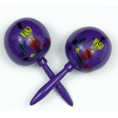 Cinco de Mayo Favors & Prizes Purple Maracas Image